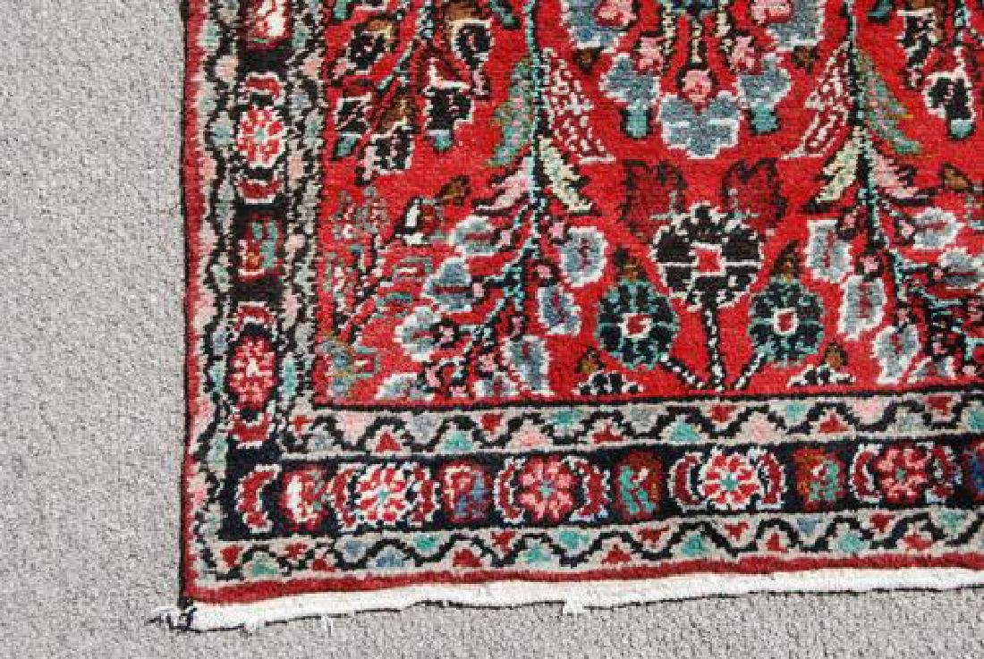 Highly Detailed Floral Design 16' Malayer Runner - 3