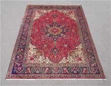 Stunning Semi Antique Persian Tabriz 97x67