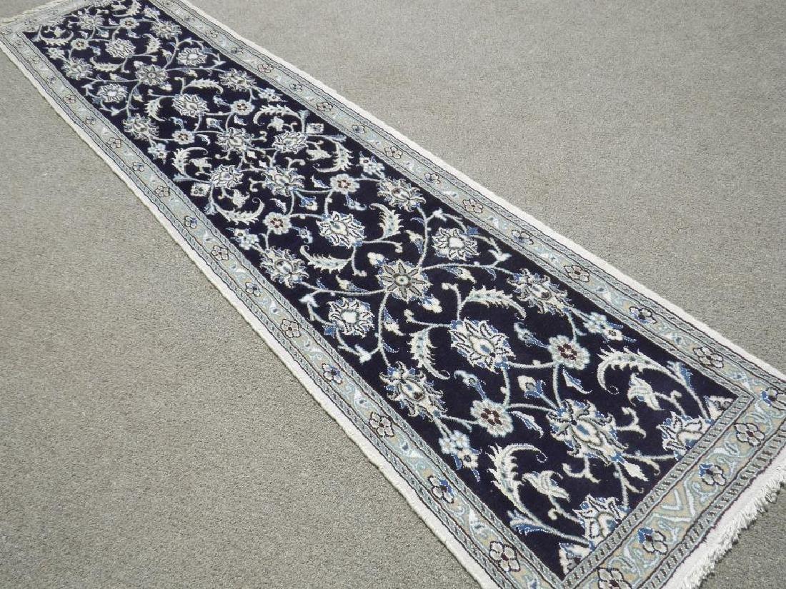 Hand Woven Persian Nain Runner 9.3x2.2 - 2