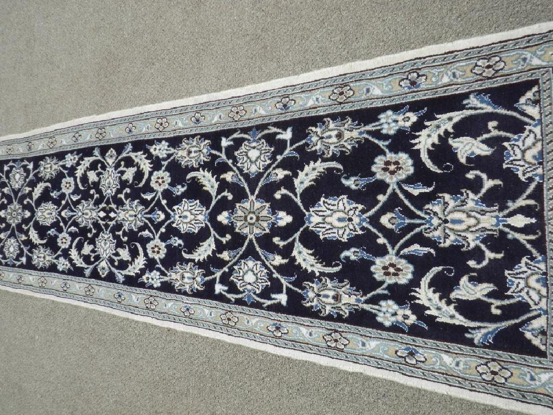 Hand Woven Persian Nain Runner 9.3x2.2 - 3