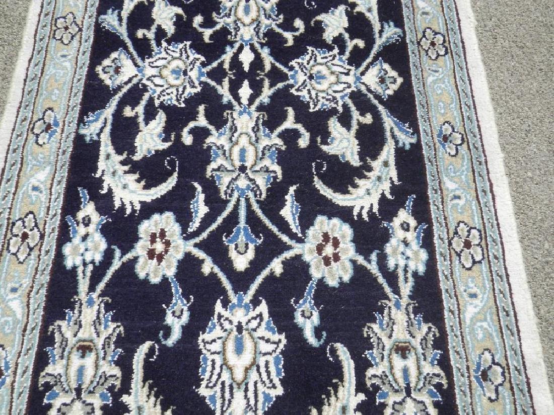 Hand Woven Persian Nain Runner 9.3x2.2 - 4