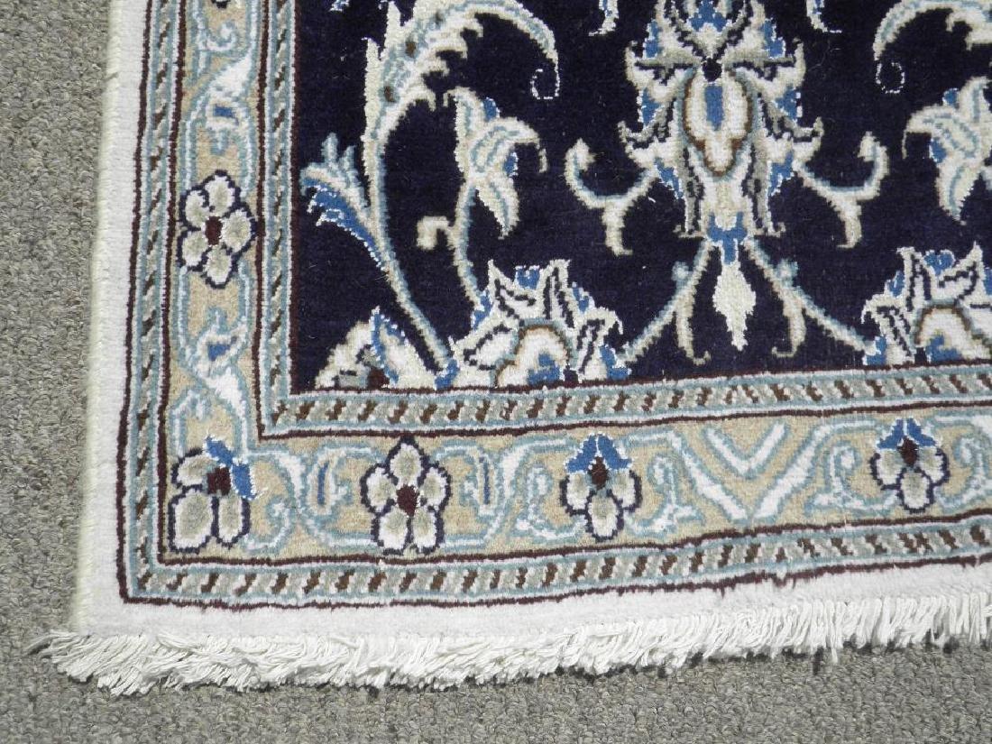 Hand Woven Persian Nain Runner 9.3x2.2 - 5
