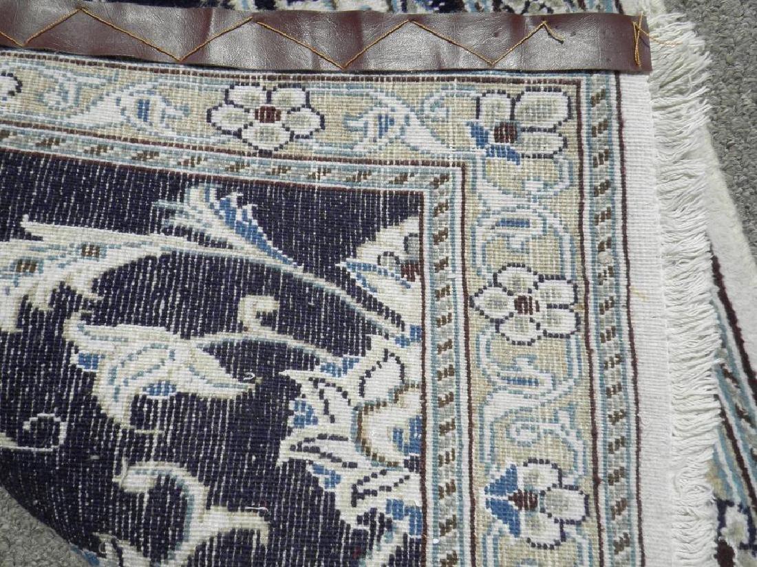 Hand Woven Persian Nain Runner 9.3x2.2 - 6