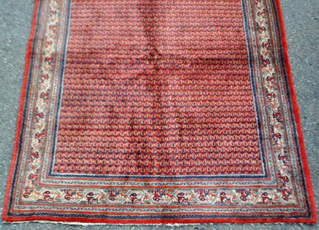Semi Antique Gazelle Footprint Persian Sarouk Rug - 3