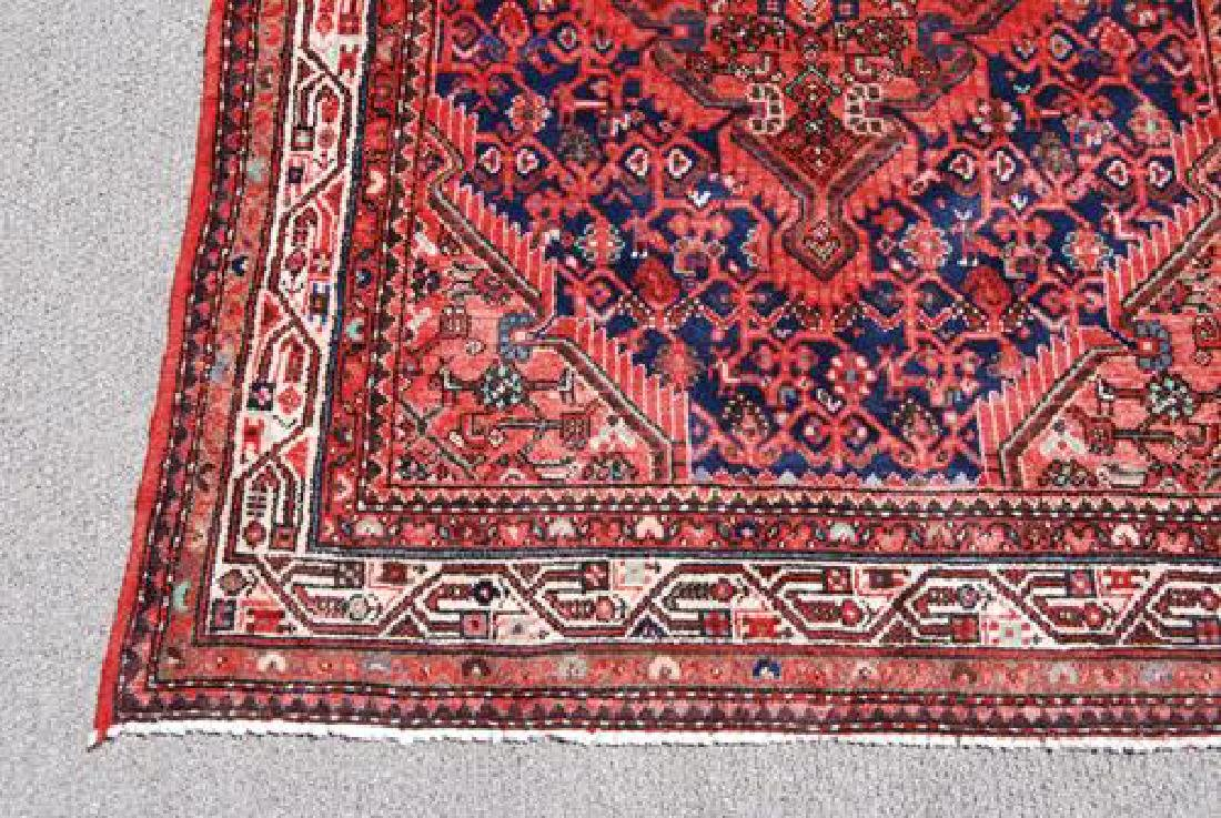 Fine Looking Authentic Persian Hosseinabad Runner - 4