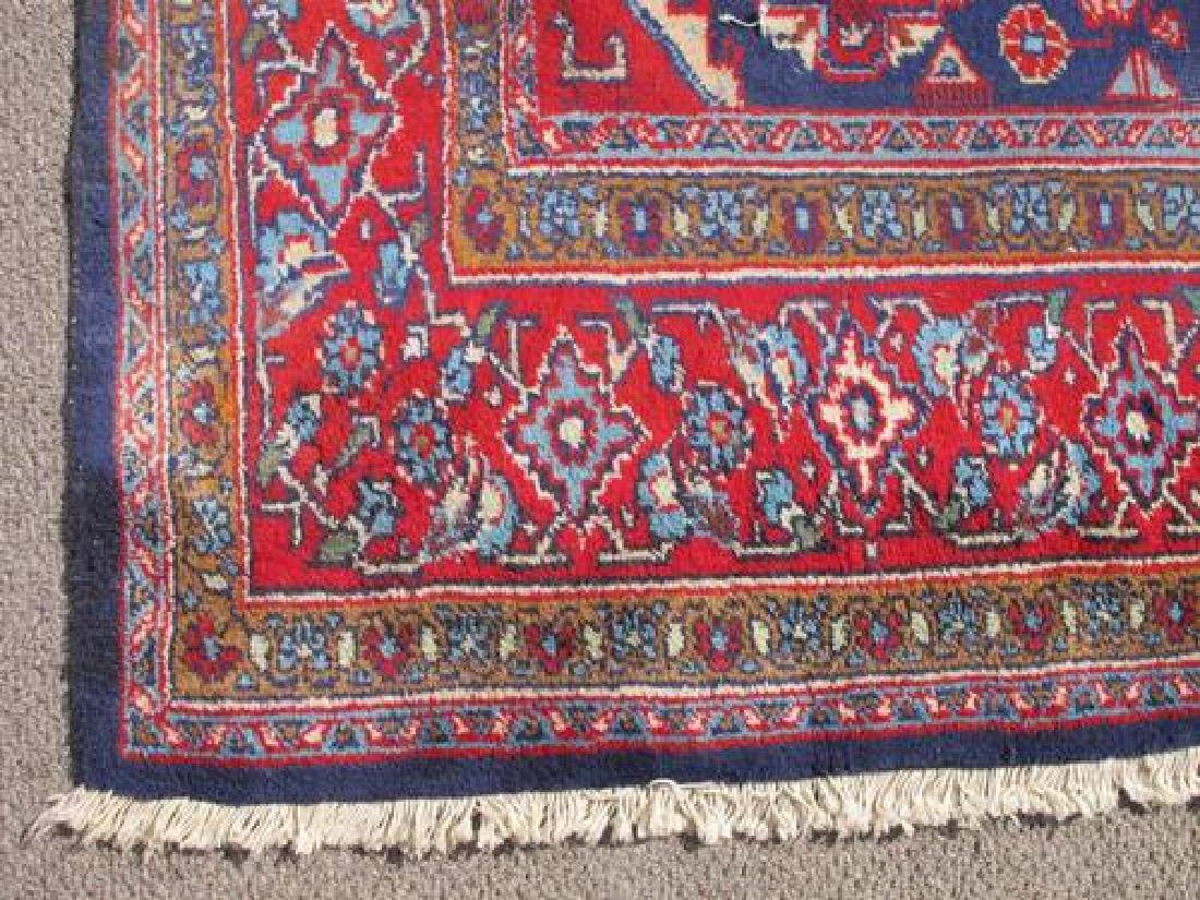 Hand Woven Wool on Wool Semi Antique Persian Viss - 3