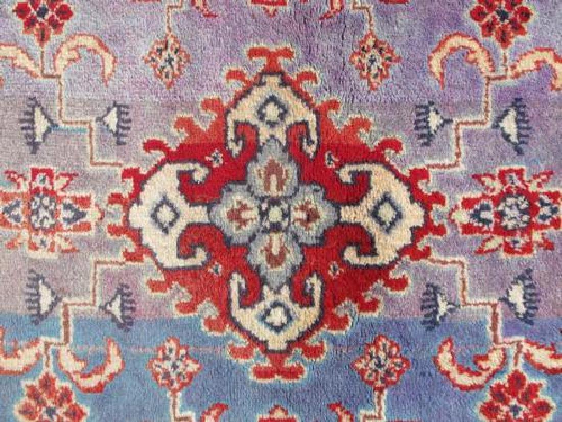 Hand Woven Wool on Wool Semi Antique Persian Viss - 4