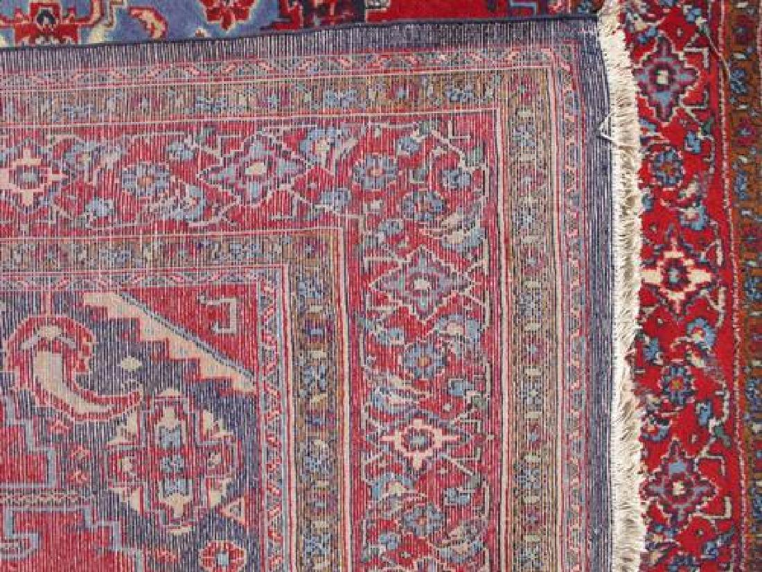 Hand Woven Wool on Wool Semi Antique Persian Viss - 5