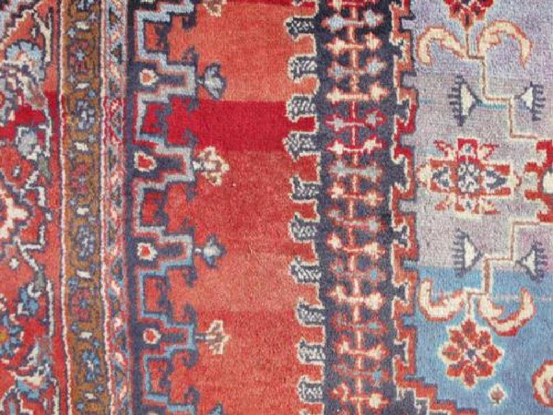 Hand Woven Wool on Wool Semi Antique Persian Viss - 6