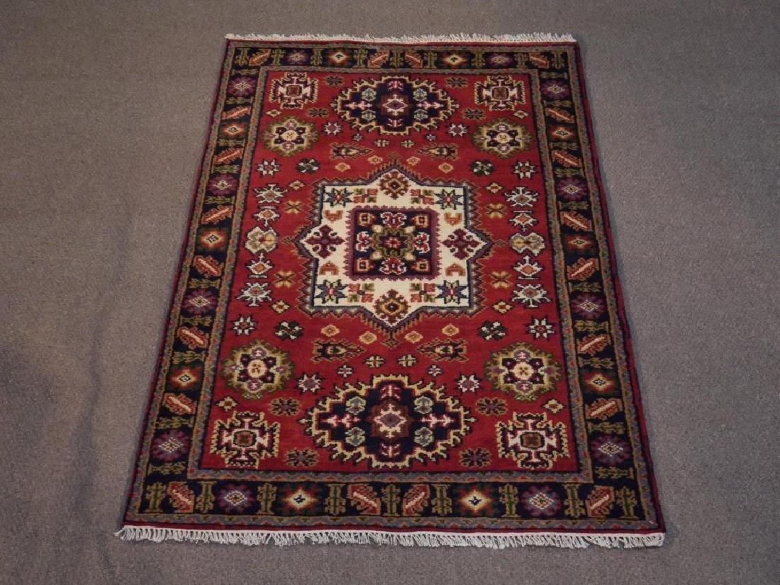 Gorgeous Handmade Kazak Design 3.11x6.1