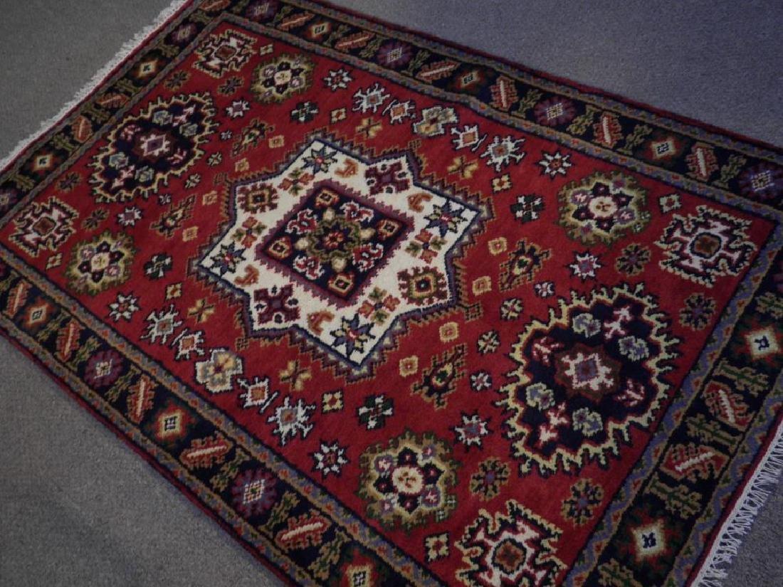 Gorgeous Handmade Kazak Design 3.11x6.1 - 2