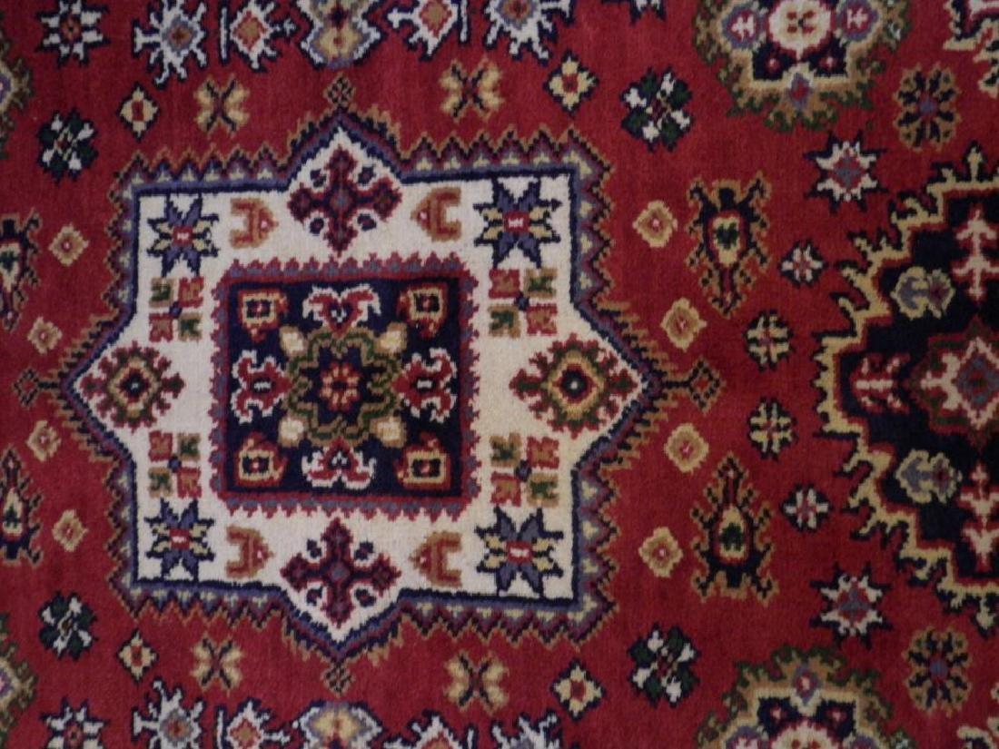 Gorgeous Handmade Kazak Design 3.11x6.1 - 3
