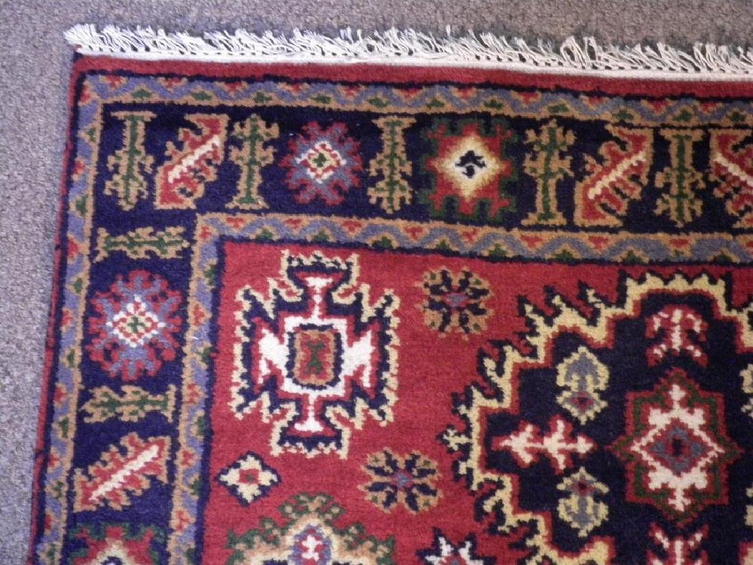Gorgeous Handmade Kazak Design 3.11x6.1 - 4