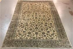 Handmade Persian Kashan 10.0x17.4