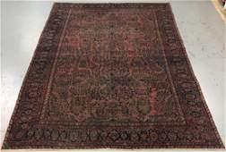 Handmade Semi Antique Persian Sarouk 10.2x15.10