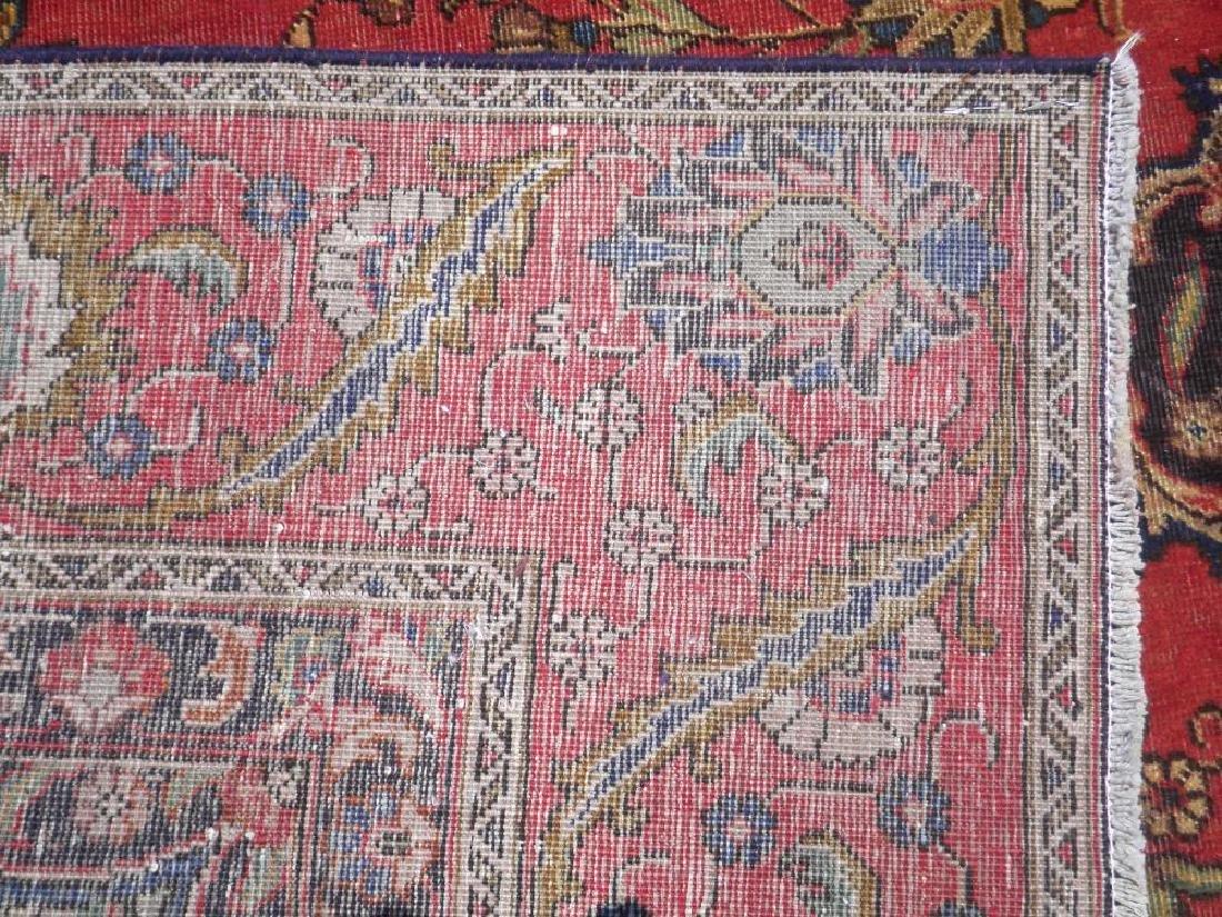 Handmade Semi Antique Persian Tabriz 12.5x8.9 - 10