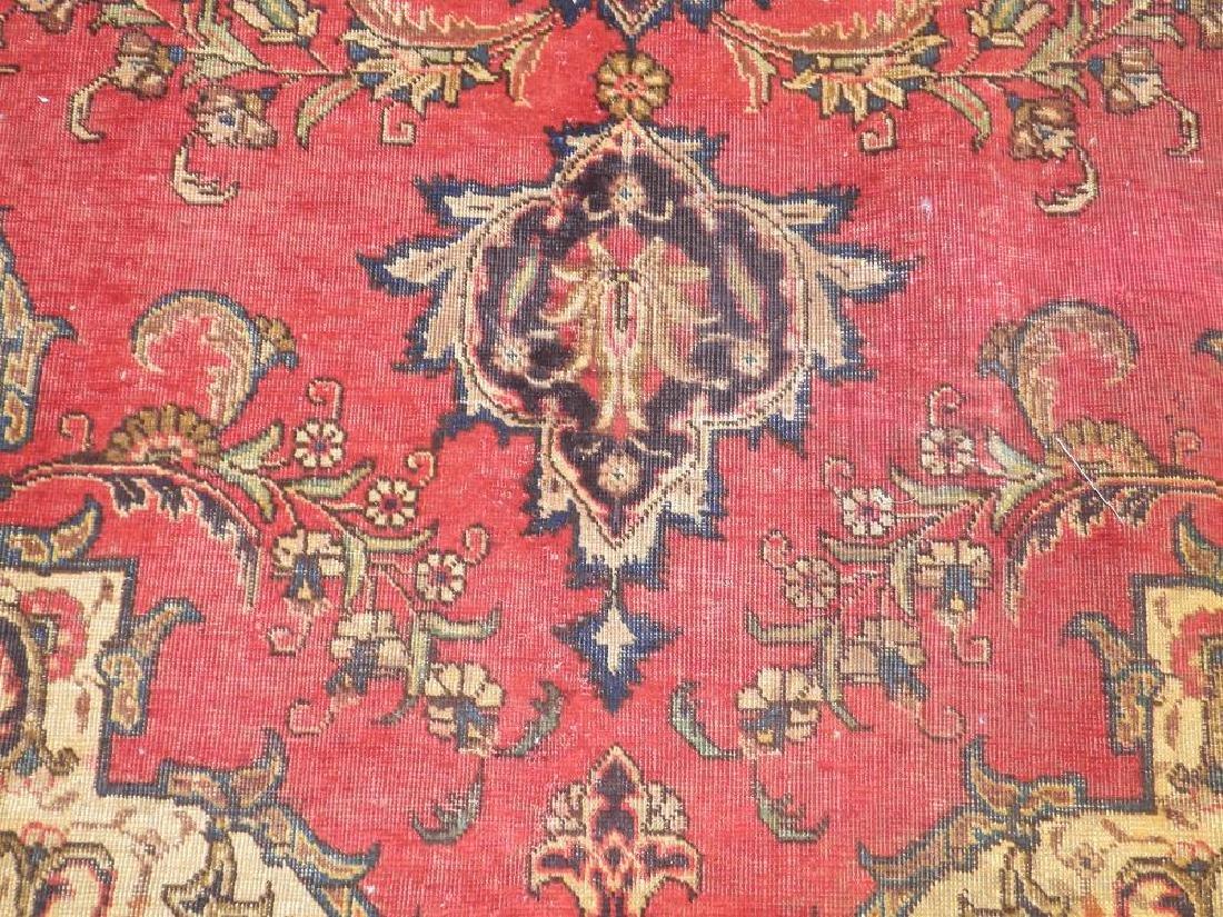 Handmade Semi Antique Persian Tabriz 12.5x8.9 - 4