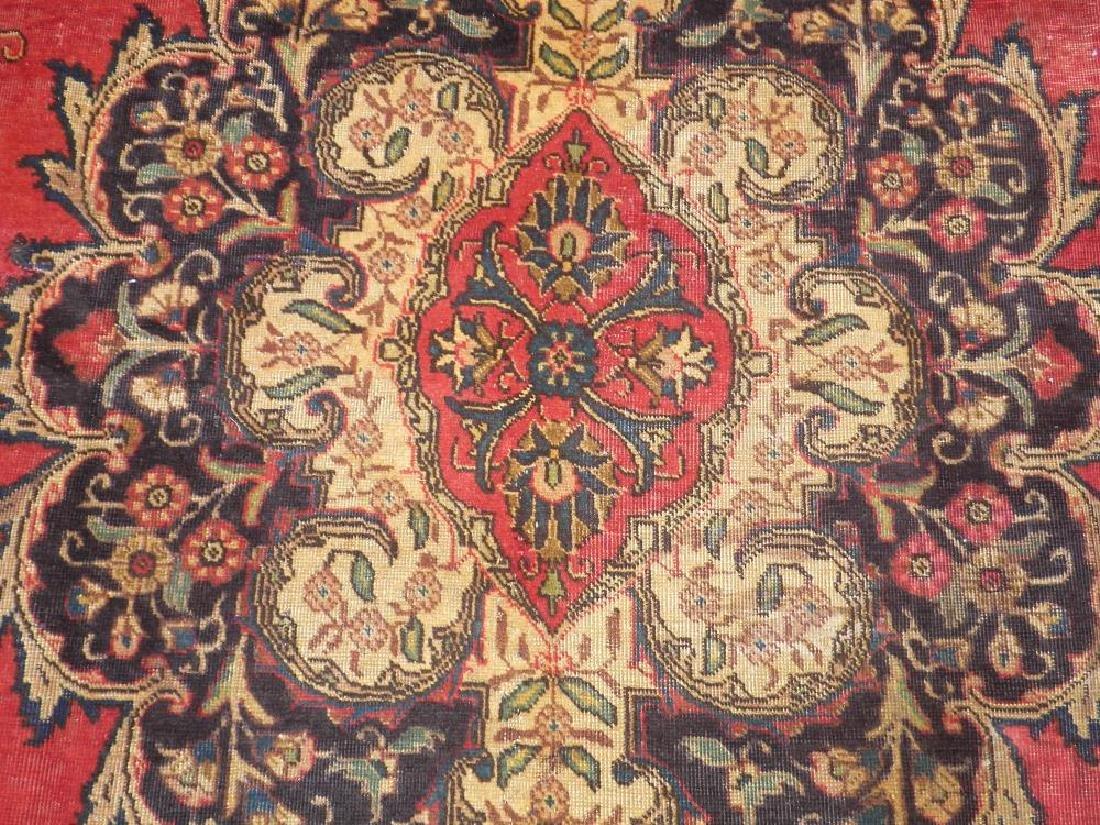 Handmade Semi Antique Persian Tabriz 12.5x8.9 - 5