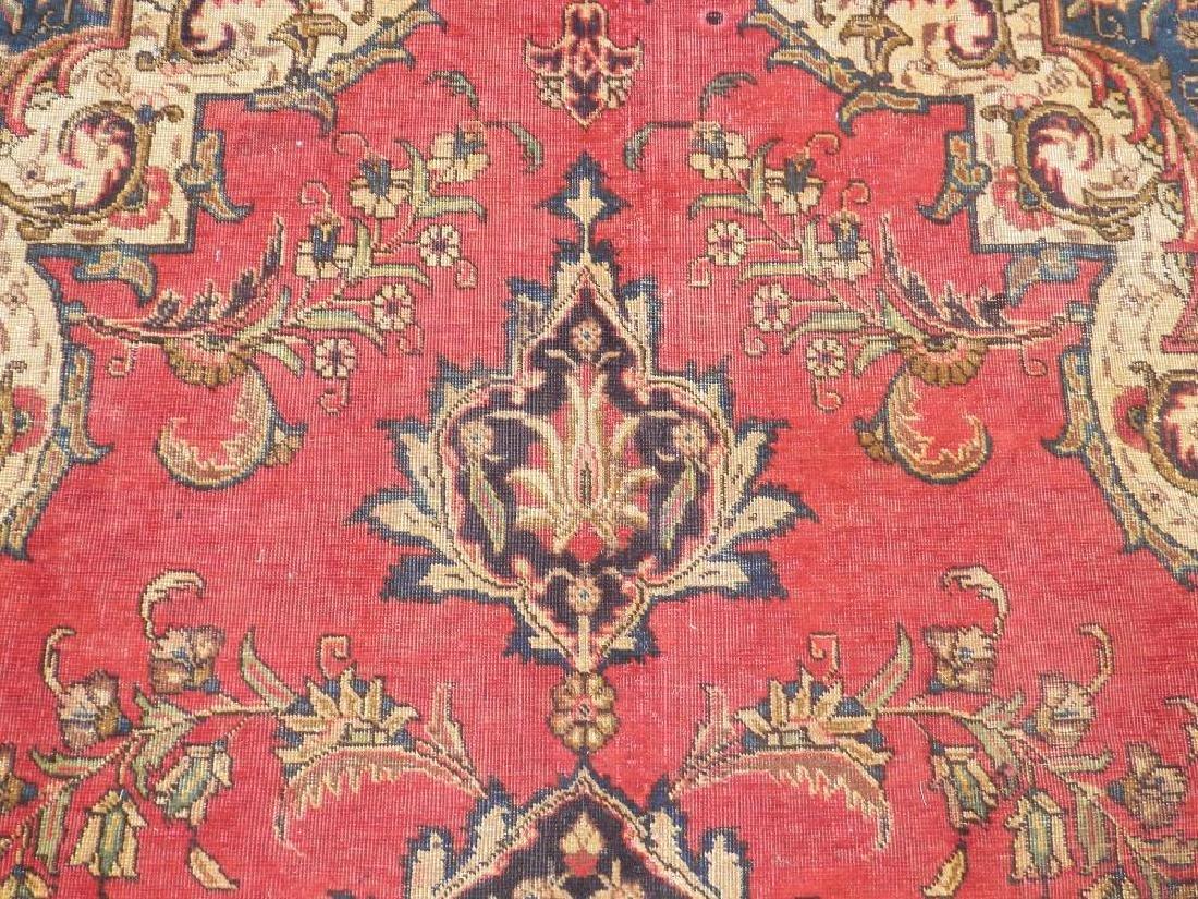 Handmade Semi Antique Persian Tabriz 12.5x8.9 - 6