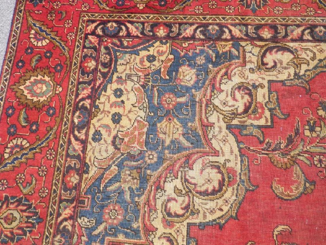 Handmade Semi Antique Persian Tabriz 12.5x8.9 - 7