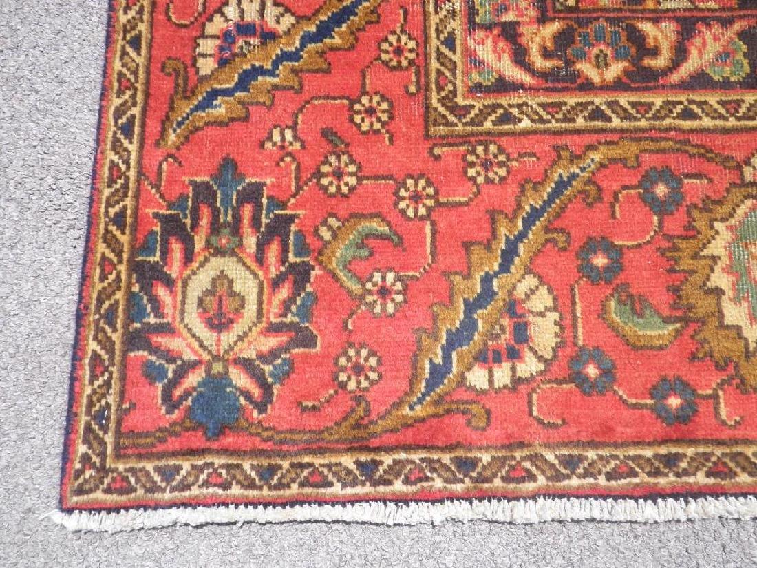 Handmade Semi Antique Persian Tabriz 12.5x8.9 - 9