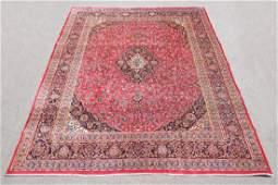 Hand Woven Semi Antique Persian Kashan 12.8x9.8