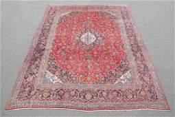 Large Room Size Semi Antique Persian Kashan 13.1x9.7