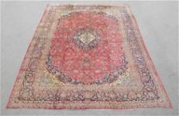 Handmade Semi Antique Persian Kashan 131x95