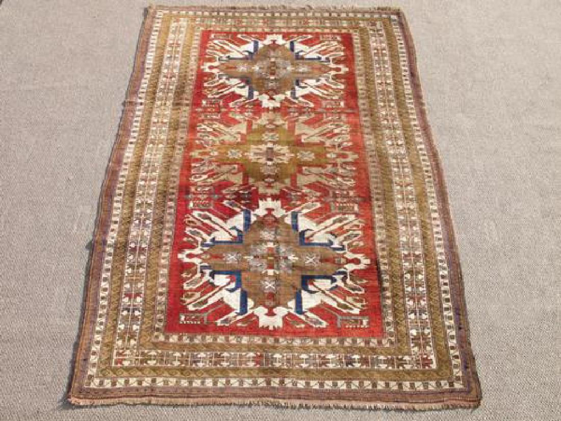Special Caucasian Semi Antique Kazak 9.2X6.0
