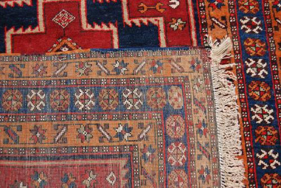 VISUALLY APPEALING HAND WOVEN PERSIAN MESHKIN RUNNER - 4