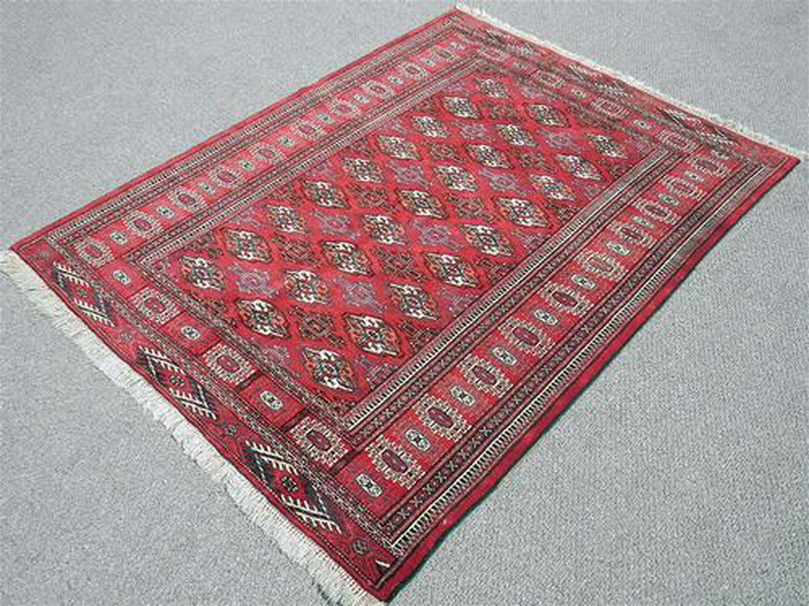 Marvelous High Quality Persian Turkmen 4.7 X 6.0