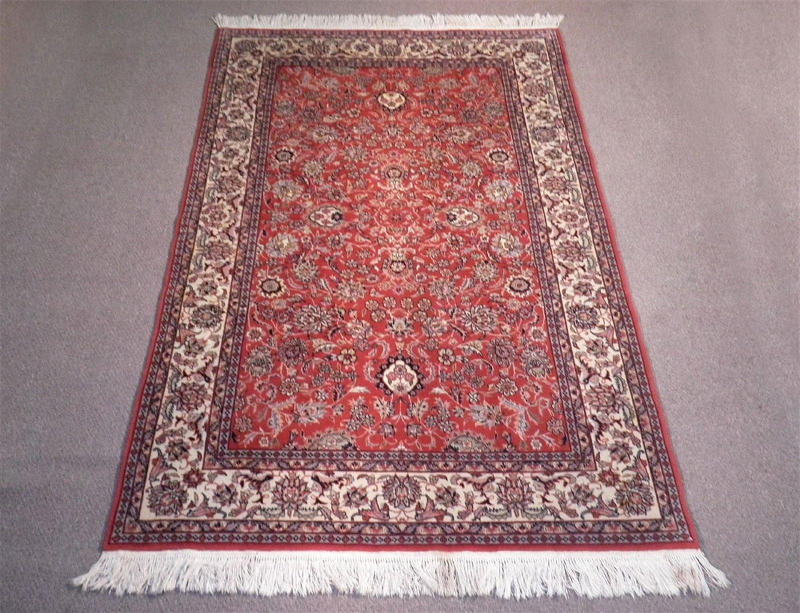 Highly Detailed Floral Tabriz Design 5x8.2