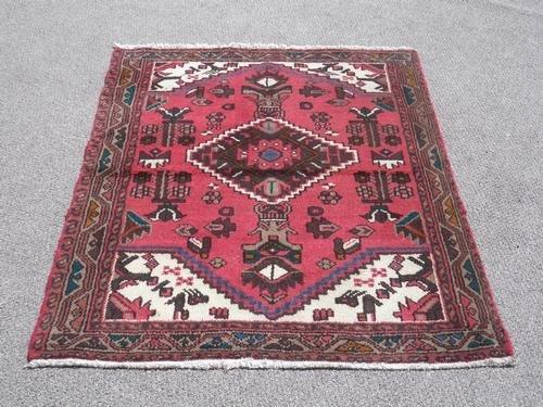 Very Fine Semi Antique Persian Hamadan 4.9x3.6
