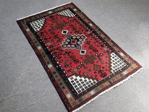 Marvelous Quality Semi Antique Persian Hamedan 4.11x3.1
