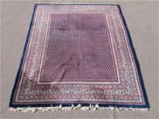 Stunning Semi Antique All Over Persian Sarouk Mir Rug