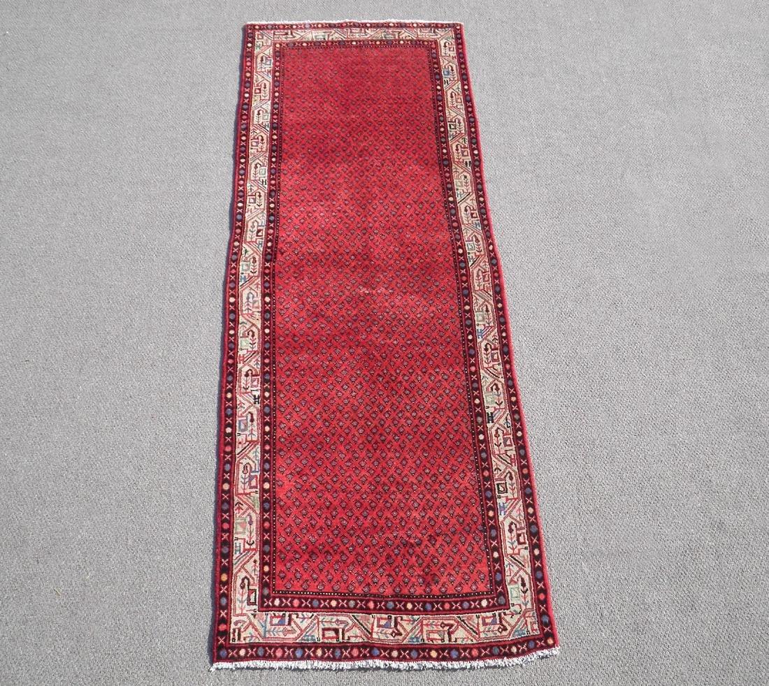 Spectacular Semi Antique Persian Sarouk Mir 3.6x10.2
