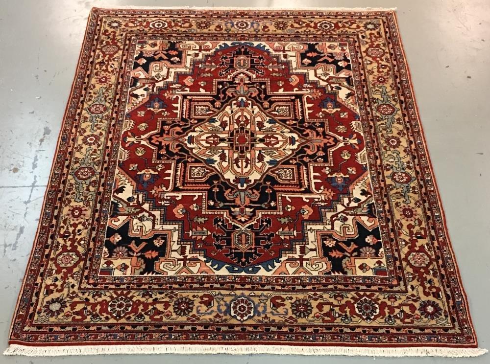 Handmade Chinese Persian Design 8.0x10.0