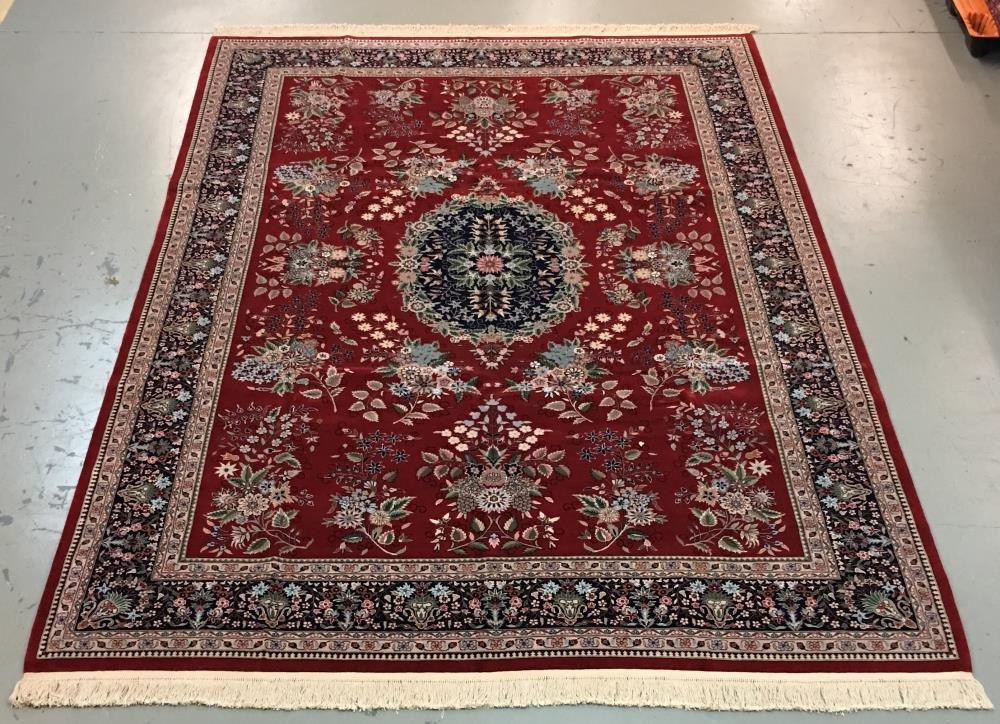 Handmade Azerbaijani Persian Design 9.6x13.6