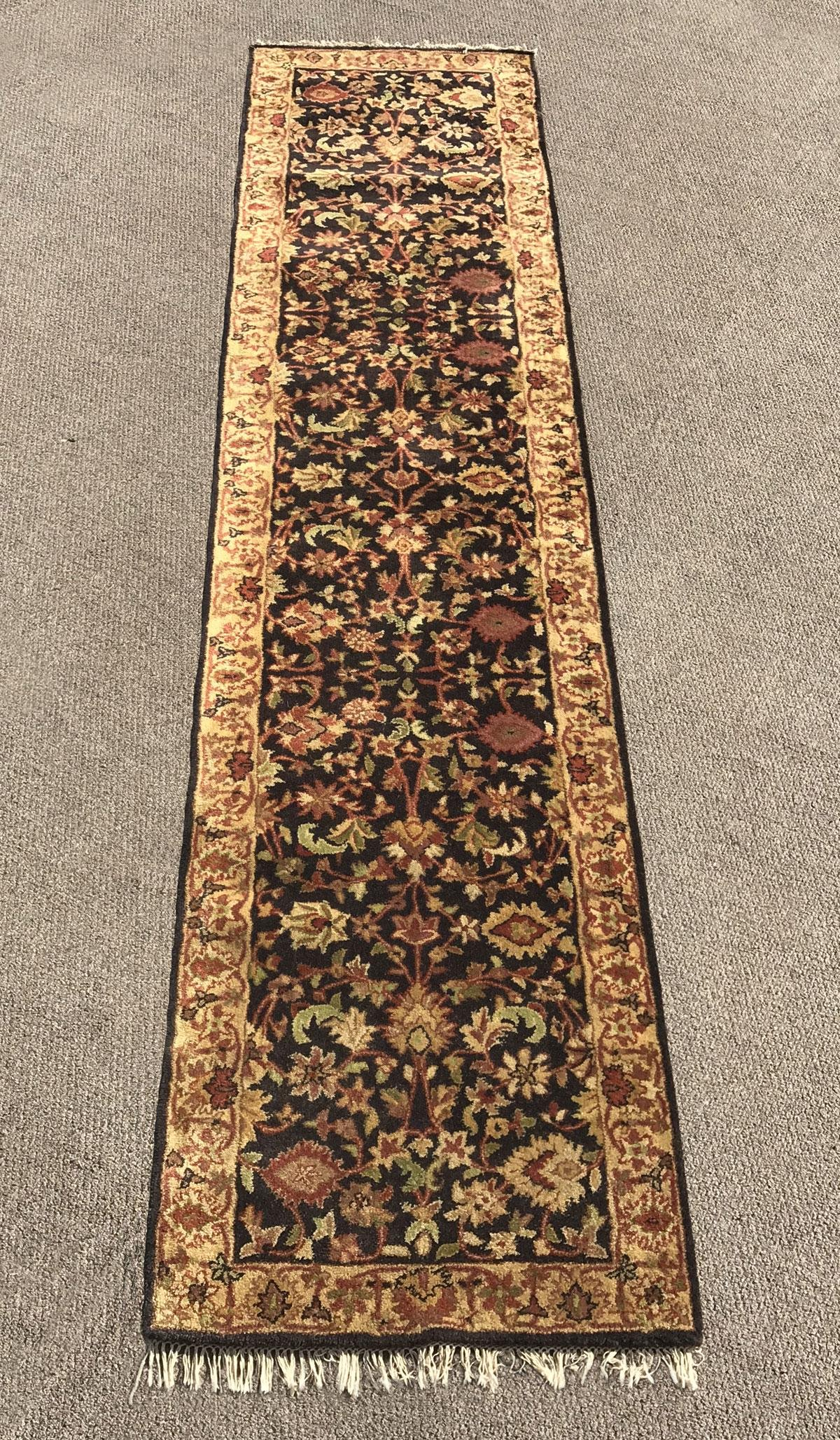 Gorgeous Hand-Tufted Runner 2.8x12.3