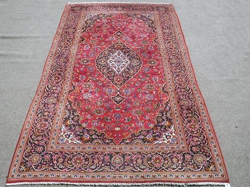 Simply Gorgeous Authentic Persian Kashan 6.8x11.11