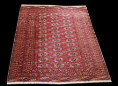 Delicate Fine Knotted Antique Persian Turkman 45x511