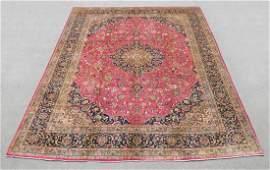 Hand Woven Semi Antique Persian Kashan 127x96