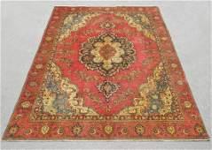 Handmade Semi Antique Persian Tabriz 125x89