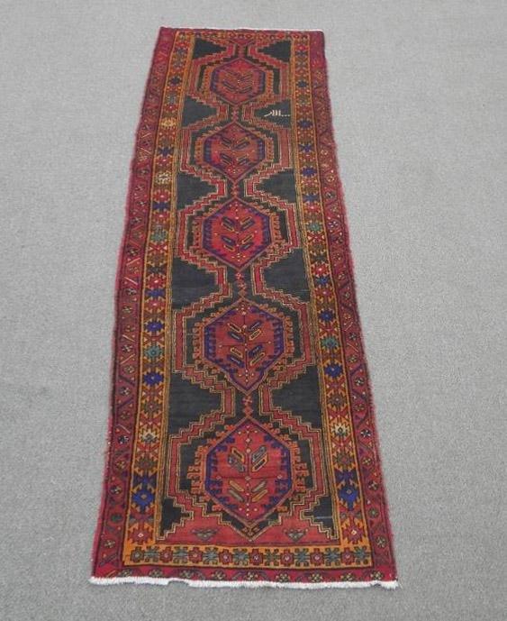 Semi Antique Persian Kurdish 3.4x10.11