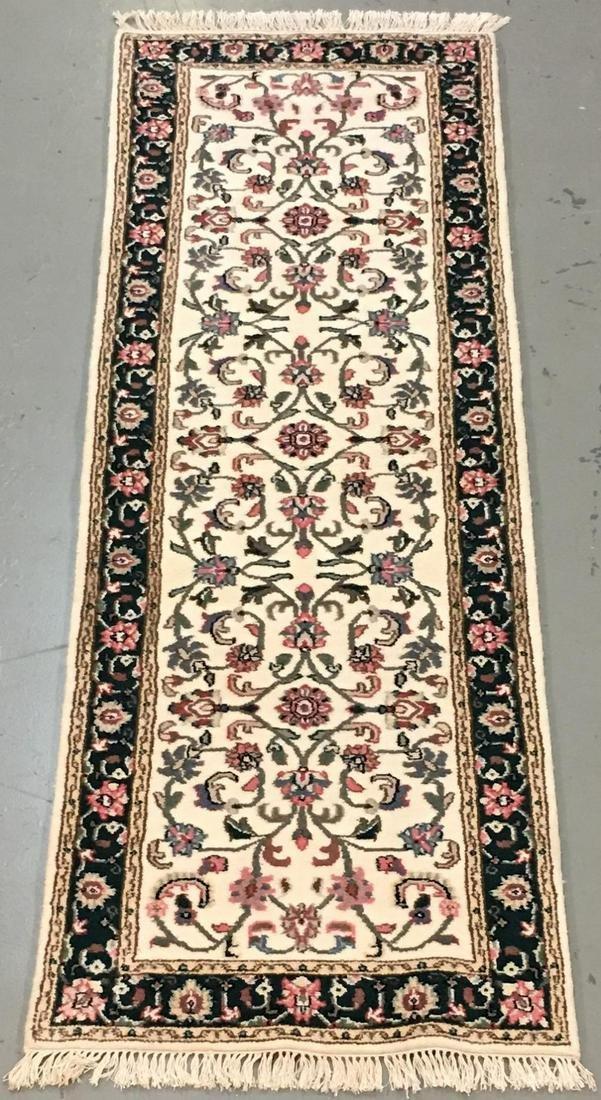 Handmade Indo Kashan 2.8x7.11