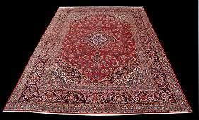 Large Room Size Authentic Persian Kashan 9.5x13