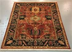 Handmade Indo Persian Design 8.0x10.0