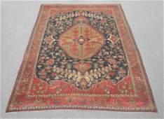 Antique Circa 1900 Persian Serapi 8.6x11.3