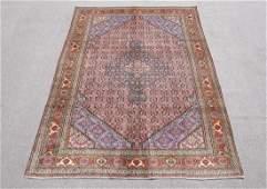 Semi Antique Persian Tabriz Mahi Fish Design 97x67