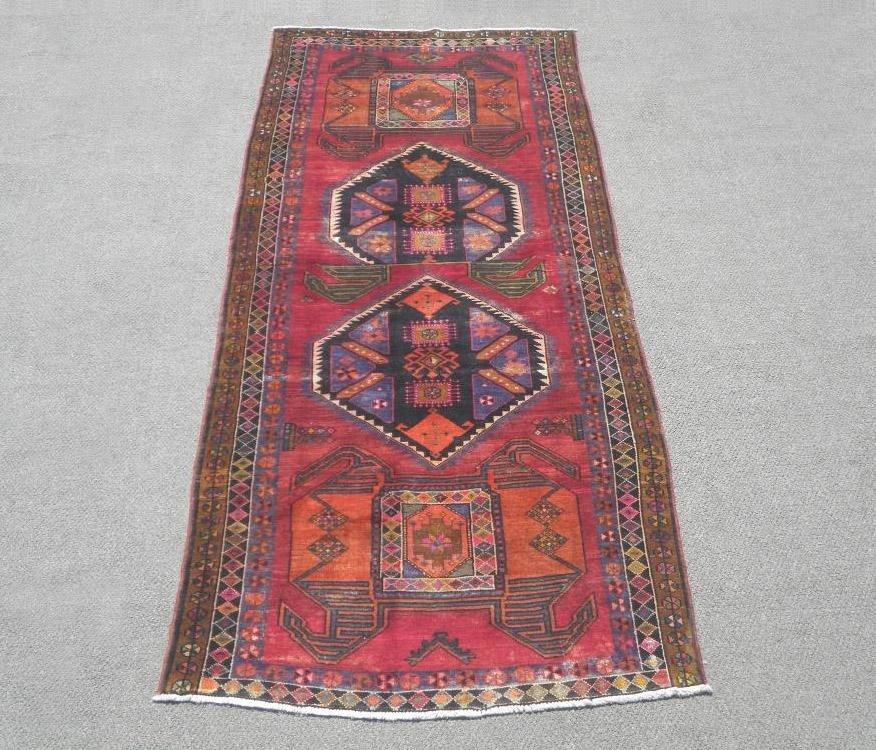 Semi Antique Persian Bakhtiari 10.9x4.2